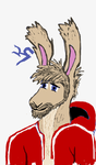 Portrait of Roo'N color by Kitsune-Knight