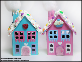 Decoden Houses by GrandmaThunderpants