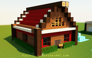 Minecraft Construction #4 by VicTycoon
