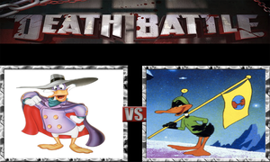 DEATH BATTLE Idea  Darkwing Duck VS Duck Dodgers by JefimusPrime