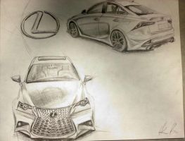 2014 Lexus IS 250 F Sport Concept No. 07 by nofxmike06