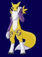 Renamon Slapped in the Face by Cybron666