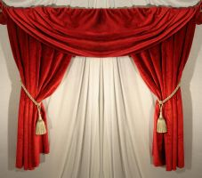 Curtain - 04 by LunaNYXstock