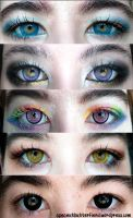 Almost blind from Uniqso circle lenses by Apeanutbutterfiend
