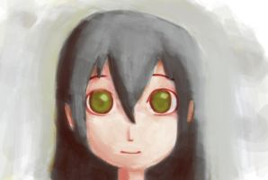 Simple smiling girl. by ineedpractice
