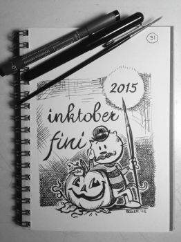 Inktober Day 31 by EBeeler