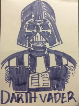 Darth Vader by StridentArc