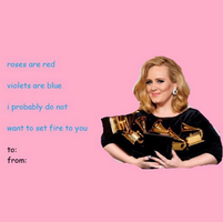 Adele by vaIentines