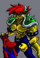 Bowser King of the Koopas by TheBigBadWolf01
