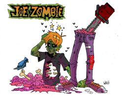 Joe Zombie by TicTacFinger