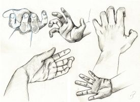 Hands Sketch Misc by Versya