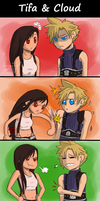 +FF7+ don't go emo on me, dude by zetina