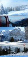Swiss-Austrian winter by Cadaska