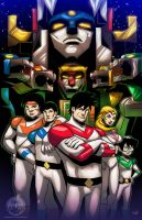 Epic Voltron - Commission by EryckWebbGraphics