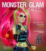 Monster High - Venus McFlytrap by kharis-art