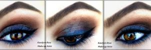 MAC Blue Brown Smokey by KatelynnRose