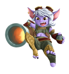 Tristana - Incoming! by Blizzmaster