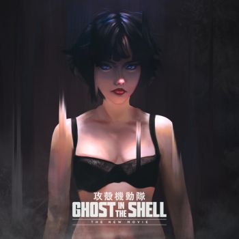 Ghost in the Shell by simoneferriero