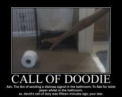 Call Of Doodie -definition- by Dragunov-EX