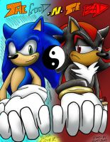 Sonic GnB Cover colored by Rally-the-Cheetah