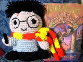 Crochet amigurumi Harry Potter by neonjello17