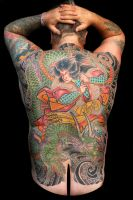 Finished Back Piece by cycoze
