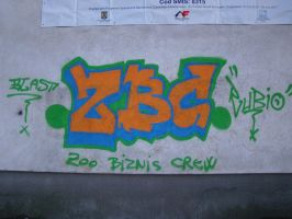 ZBC graffiti by BallerAdy