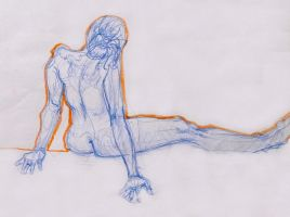 Life Drawing October 2011 by Gizmoatwork