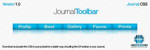 DA Journal CSS Toolbar by jhasson