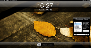 iPhone Clock 3 Desktop by fediaFedia
