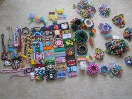 Kandi collection by CompulsiveColorer