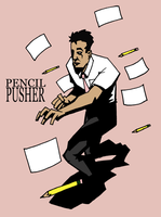 Pencil Pusher by kjmarch