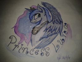 Princess Luna is Kawaii desu nya! by invaderKj