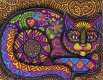 Colors of the Cat by HGCreations
