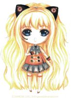 Chibi SeeU in Watercolor by SinEngraved