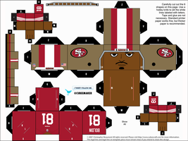 Anquan Boldin 49ers Cubee by etchings13