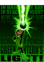 Green Lantern by kudoze