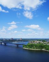Ottawa river by viviannecamaro