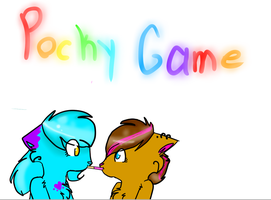 pocky game I AM BORED... by Thundercatzgirl