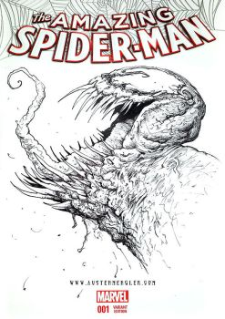 VENOM - Sketch Cover by AustenMengler