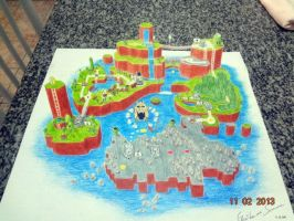 Super Mario World 3D by GuiSommer