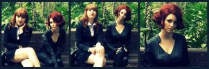 Avengers: Black Widow and Pepper Potts by Alice-of--spades