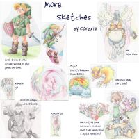 More Sketches by cordria