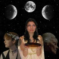 Triple Goddess by Faraday-of-Skarabost
