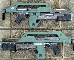 pulse rifle finished well almost by ThePrinceofMars