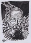 Mr. White Breaking Bad by LucaNnoCorE
