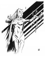 Scarlet Witch sketch by deankotz