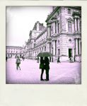 Polaroid - Love at le louvre by vanessalouise
