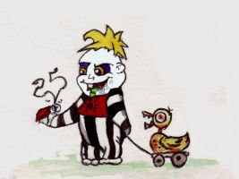Baby Beetlejuice Contest Entry by Psyjick