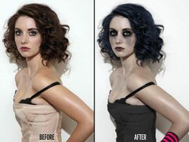 Model Manipulation #1: Alison Brie by papatom